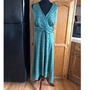 Jonathan Martin Polka Dot Maxi Dress Size 20W
